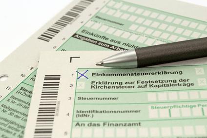 Einkommensteuer Vorlagen vom online Steuerberater