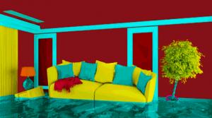 Nasse Wand im Badezimmer: Wann die Wohngebäudeversicherung zahlen muss