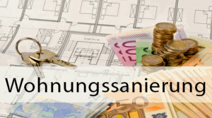 Wohnungssanierung von einer Eigentümergemeinschaft online Steuerberater