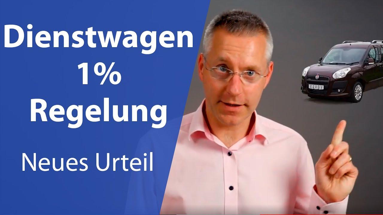Dienstwagen 1% Regelung einfach erklärt (Neues Finanzamt Urteil 2020) I Steuerberater erklärt
