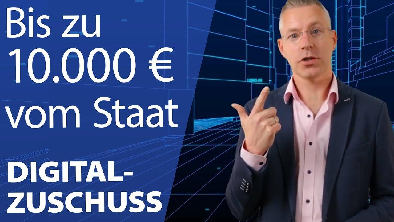Digitalzuschuss von bis zu 10.000€ für dein Unternehmen sichern! Steuerberater erklärt